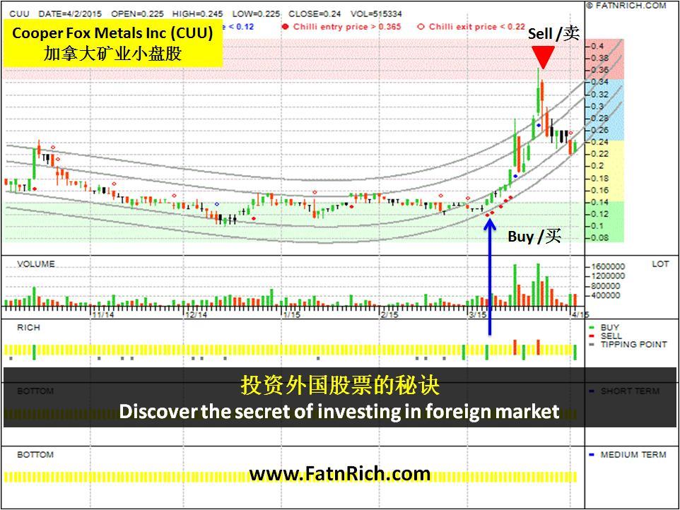 投资外国股票的秘诀 - 加拿大股票 Cooper Fox Metals Inc (CUU)