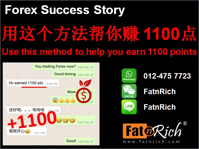 外汇,比特币和期货:用这个方法帮你赚1100点